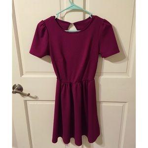 Magenta Forever 21 Dress